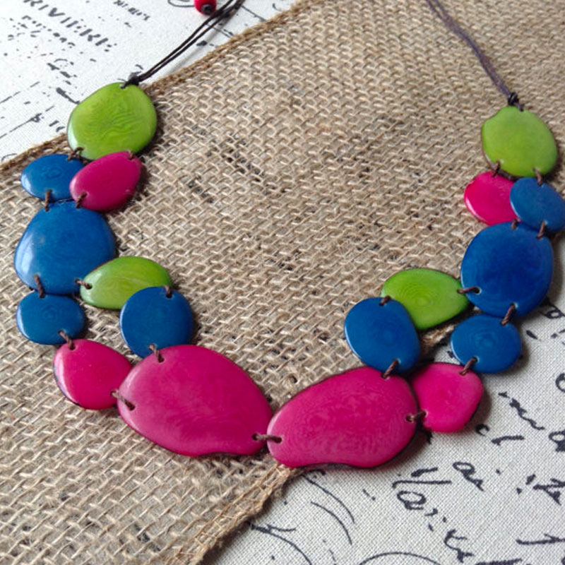Tagua Jewelry Necklaces
