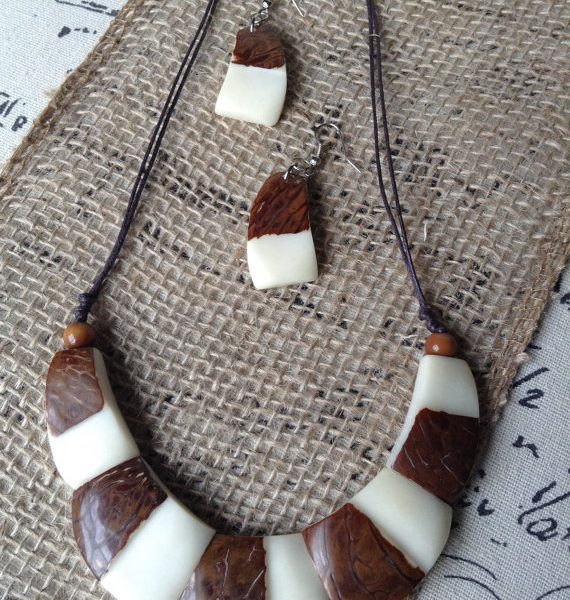 Tagua Necklace Christmas Gift