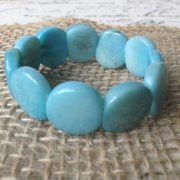 BABY BLUE LITTLE GIRLS BRACELET
