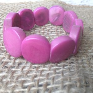 PURPLE HANDMADE GIRLS BRACELET