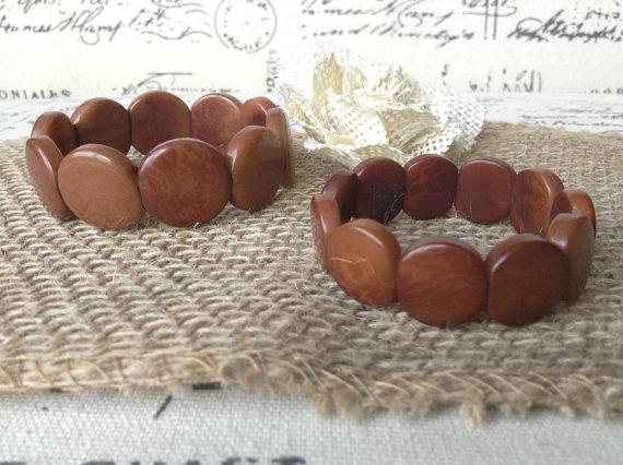 BROWN BEADED HANDMADE BRACELETS