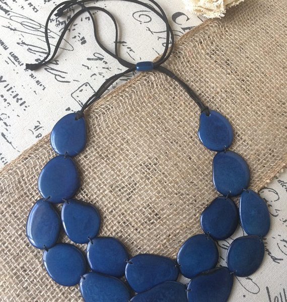 Blue-layered-tagua-necklace