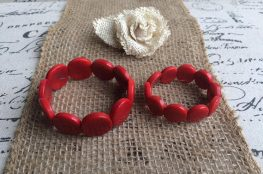 Mommy and me Tagua nut bracelets