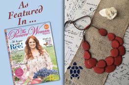 The Pioneer Woman Magazine Tagua Jewelry
