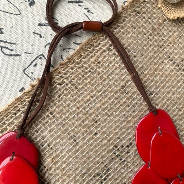 red-triple-layer-tagua-nut-necklace